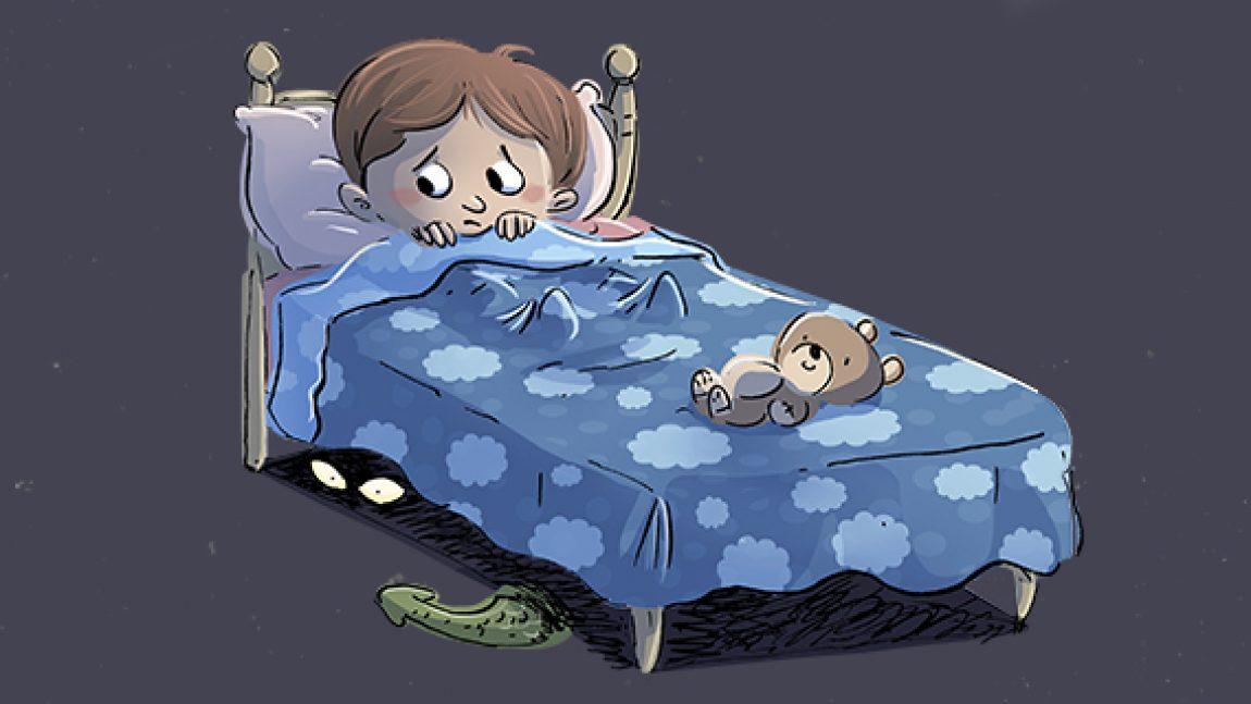 Che paura: c'è un mostro sotto il letto…