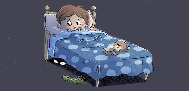Che paura c 39 un mostro sotto il letto il piccolo principe - A letto piccolo mostro ...