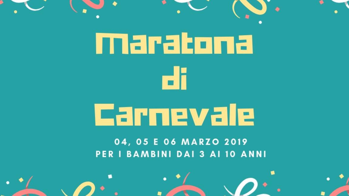 Maratona di Carnevale- marzo 2019