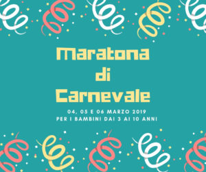 maratona carnevale 2019