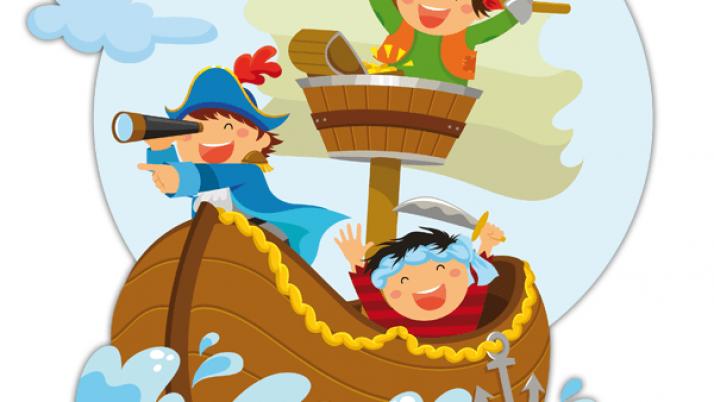 Pirates adventure in Ludoteca!